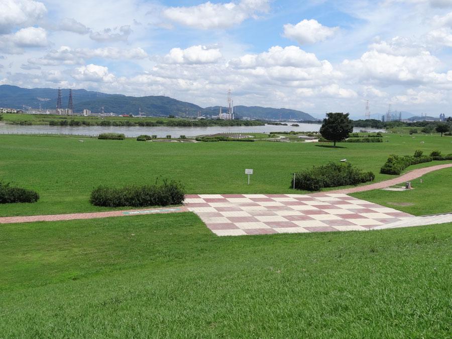 2018.7.9淀川スタジアムに隣接する公園