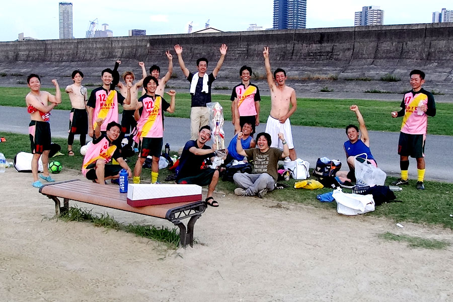39thチャンピオンズリーグ優勝 north/大阪府内サッカー場