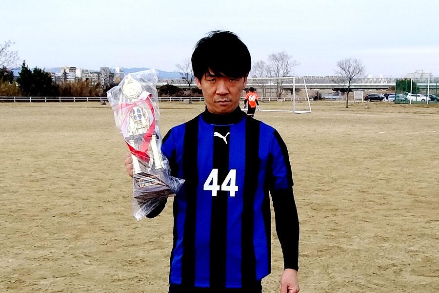 2017年アシスト王FC AVAILAヤマJr選手/大阪府内サッカー場