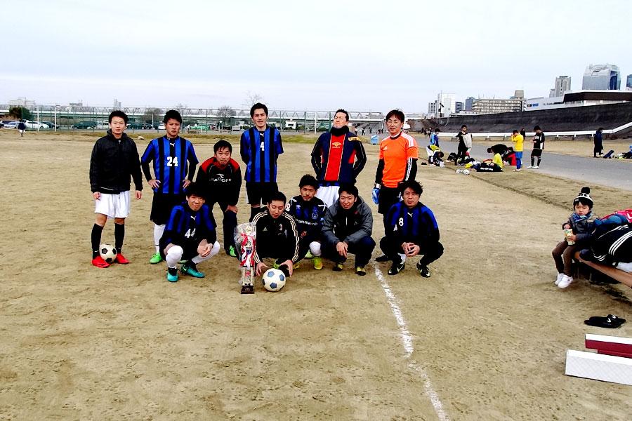 2017年優勝 FC AVAILA/大阪府内サッカー場
