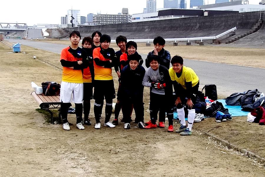 2018.01.28第1試合FC Noel/大会名:87thリーグ/大阪府内サッカー場/