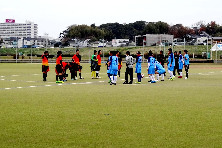 2018.12.23第2試合FC Noel-タカモト道路団/大阪府内サッカー場