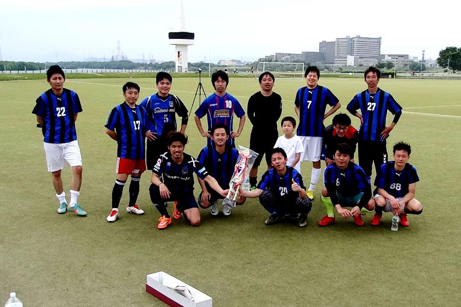 40thチャンピオンズリーグ優勝 FC AVAILA/大阪府内サッカー場
