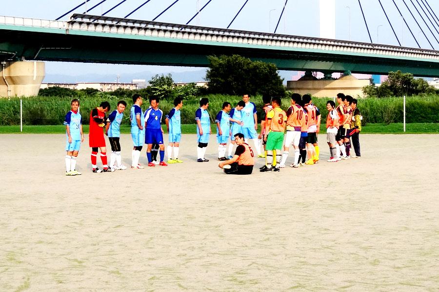 2019.07.28第3試合87thリーグタカモト道路団-FCノア/大阪府内サッカー場