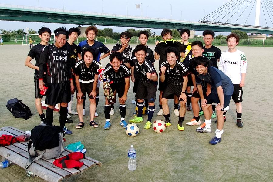 89thリーグ優勝 FC Noel/大阪府内サッカー場